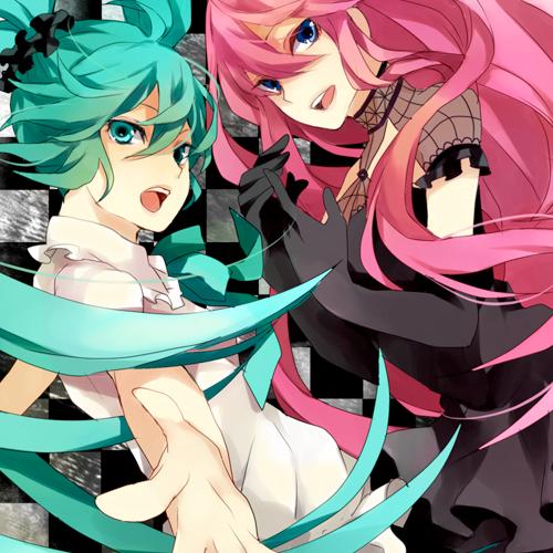 Miku hatsune et Megurine Luka - Attempted Girl