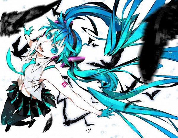 Miku Hatsune - Floating With