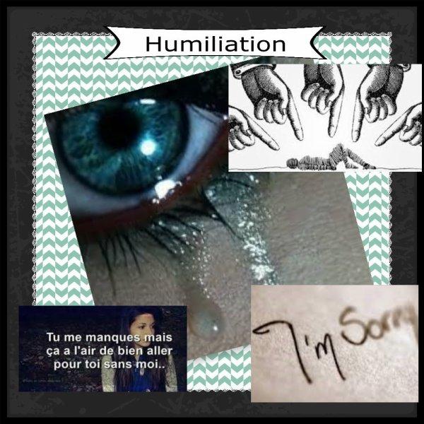JDR 2 : Chapitre 11 : Humiliation