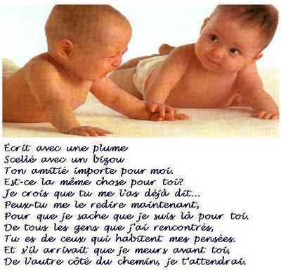 Poeme D39amitie Tres Touchant