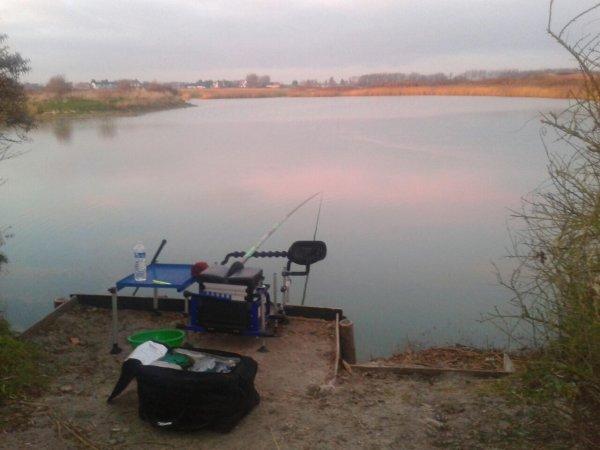 Partie de pêche avec non pote JB
