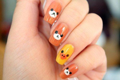 Nail Art, des ongles vraiment mignons ! #1