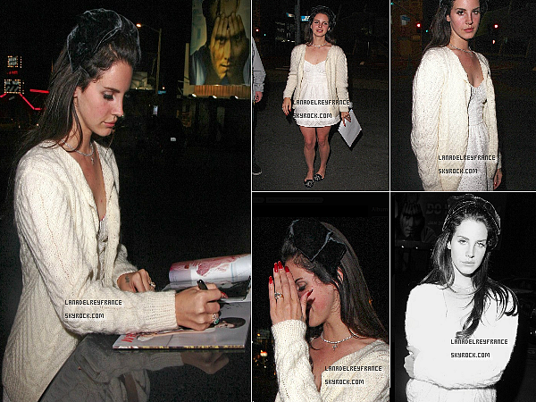 2 nouvelles fuites de Lana. + Photo de Grant avec Make Will Made It. + Candids de Lana à Los Angeles.