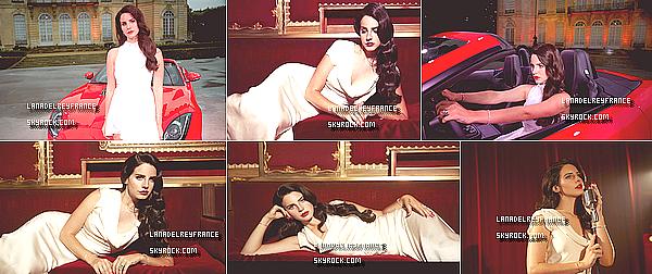 """Nouvelle vidéo promotionnelle de Lana """"Burning Desire"""" pour Jaguar USA. + Photoshoot de Nicole Nodland pour la nouvelle Jaguar. + La pochette du single """"Dark Paradise"""" montre son visage."""