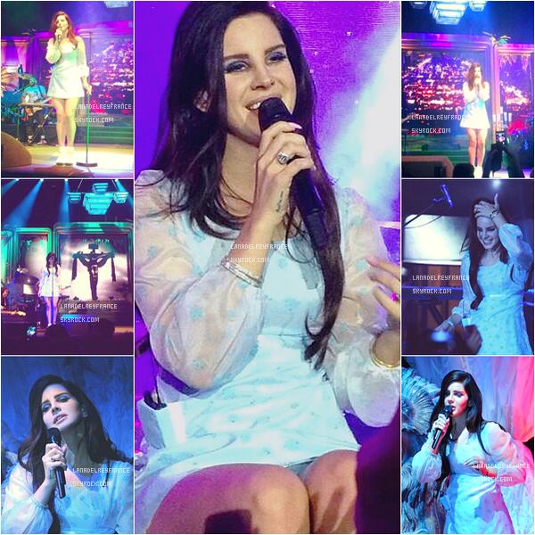05/04/2013 : Photos du concert au Tap 1 de Copenhague. 06/04/2013 : Photos du concert à L'O2 Arena d'Hambourg. 08/04/2013 : Vieille vidéo inédite de Lana.
