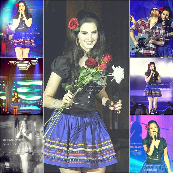"""20/04/2013 : Photos du concert à Vienne. 21/04/2013 : Photos du concert à Francfort. 21/04/2013 : Nouveau titre """"Young And Beautiful"""" dévoilé."""