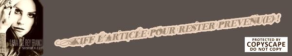 04/12/2013 : Première date pour Tropico. 05/12/2013 : Nouvel album annoncé lors de la première de Tropico. 06/12/2013 : Nouvelles photos du magasine Obsession pour Tropico !
