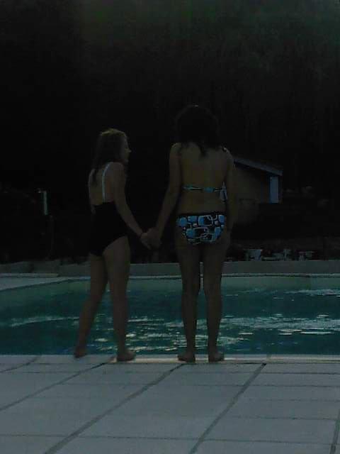 Audrey & Stéphanie ; le retour . Powaaa , ça va faire mal ! :D