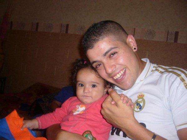 moi est ma niece elle me ressemble