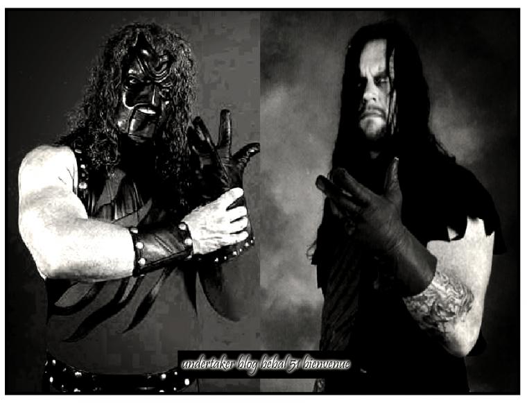 L'évolution en photographie de deux frères sein de l'entreprises WWE.