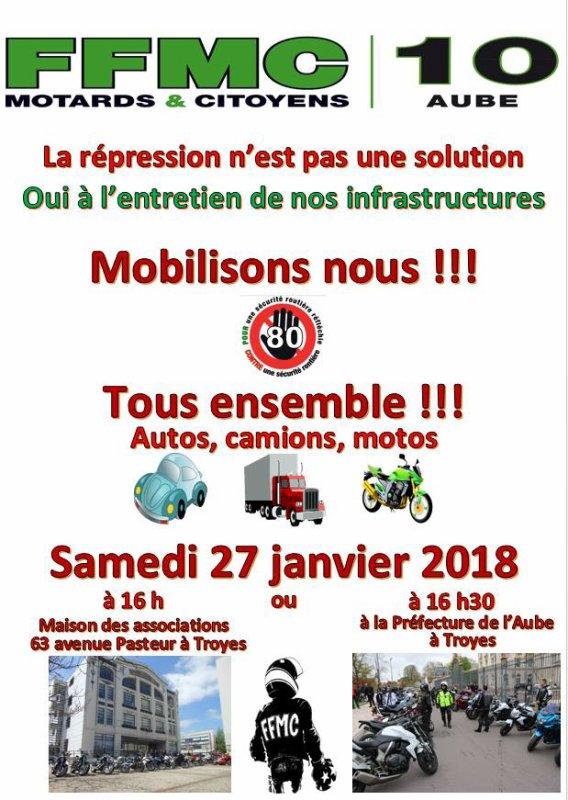 janvier 2018 (we du 27/28)
