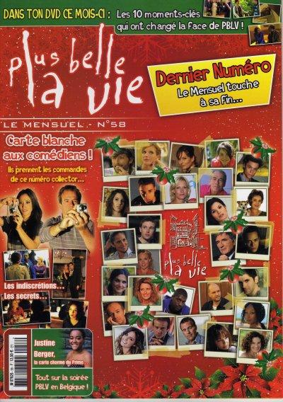 Dernier mensuel PBLV n°58 : décembre 2010