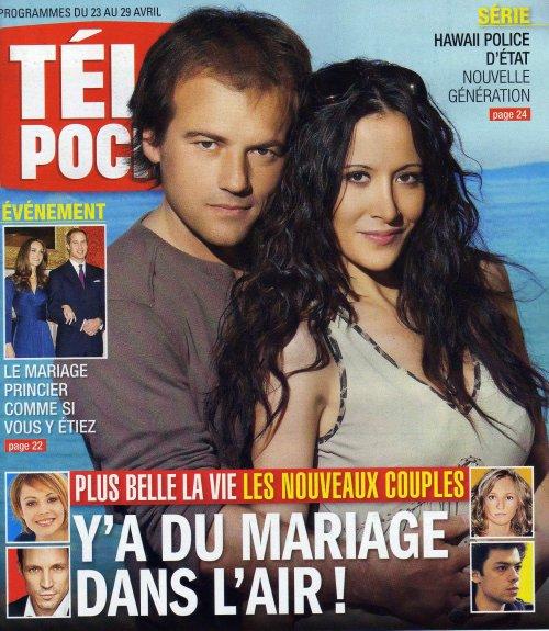 Télépoche du 23 au 29 avril 2011 : Y'a du mariage dans l'air !
