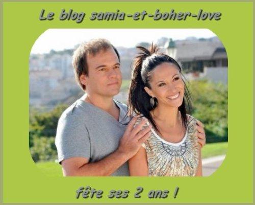 """Le blog """"samia-et-boher-love"""" fête ses 2 ans !!!"""