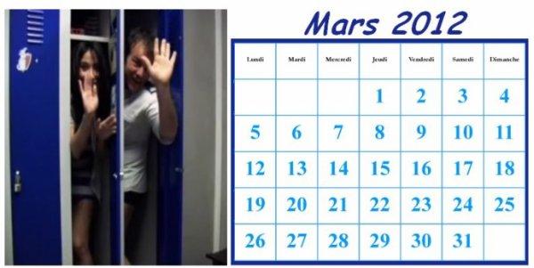 Agenda / Actus Mars 2012