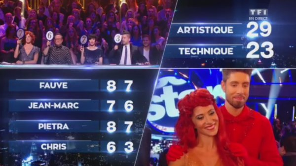 Samedi 28 novembre - 5e prime de Danse Avec Les Stars