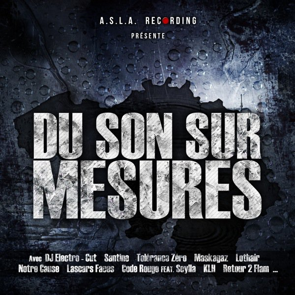 "COVER DOUBLE COMPILATION "" DU SON SUR MESURES """