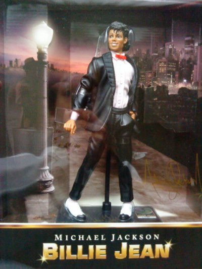 mes figurine prise en photo michael jackson