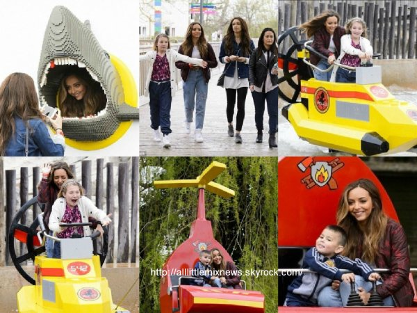 12 avril 2015 : Jade au LegoLand avec sa famille