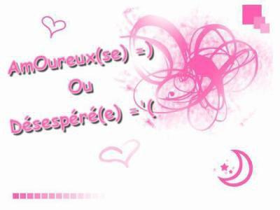 amoureux ou despere