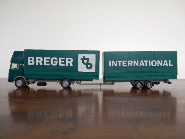 un autre camion remorque BREGER au 1/87e