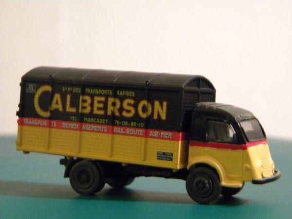retour chez Calberson