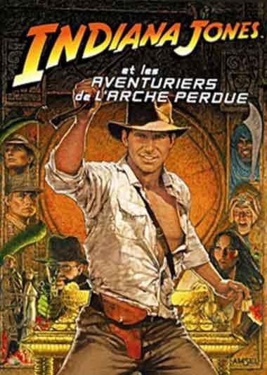 Saga du mois n°6 Indiana Jones et les Aventuriers de l'Arche Perdu