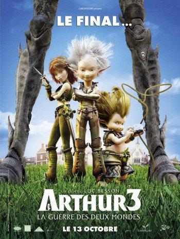 Saga du mois n°9 Arthur et la Guerre des Deux Mondes