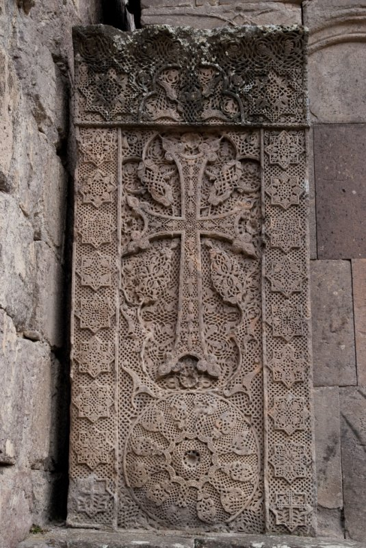 year 1281. Goshavank, Armenia