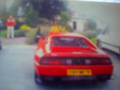 la voiture a mon oncle