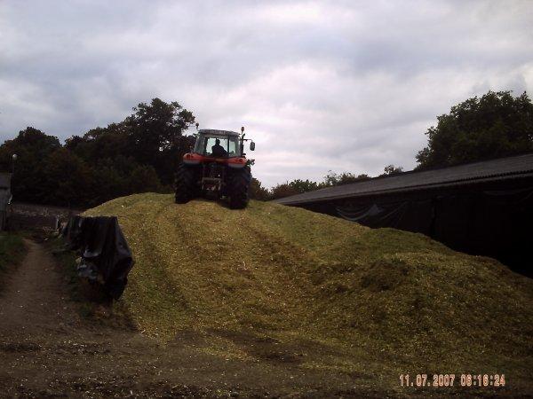 au champ et le silo