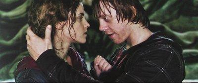Ron et Hermione...<3