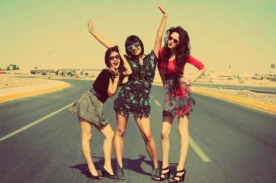 Les amis c'est la raison du bonheur dans la vie !