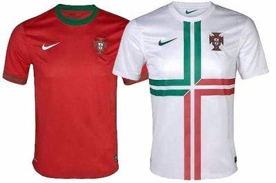 Maillots Portugal Euro 2012