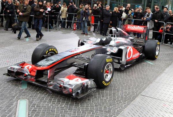 Mercedes Mclaren F1 2012