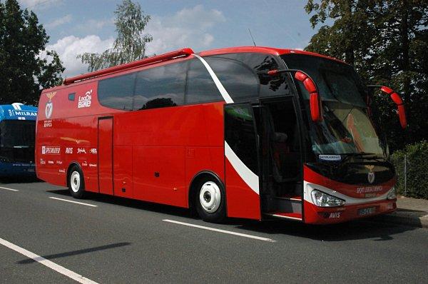 Le car du Benfica