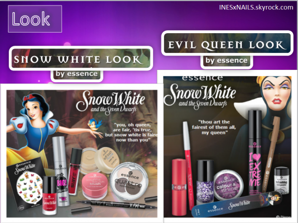 Nouvelle collection Snow White ( Essence )