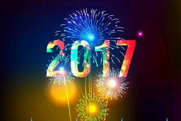 Bonne année 2017 à tout le monde