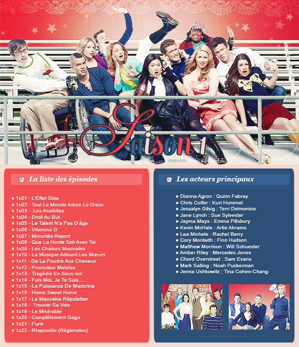 ● Listes Episodes || Saison 1