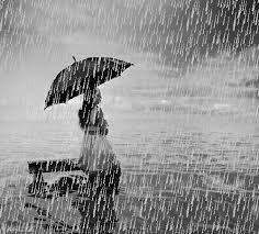 Bonjour bonne journée sous la pluie