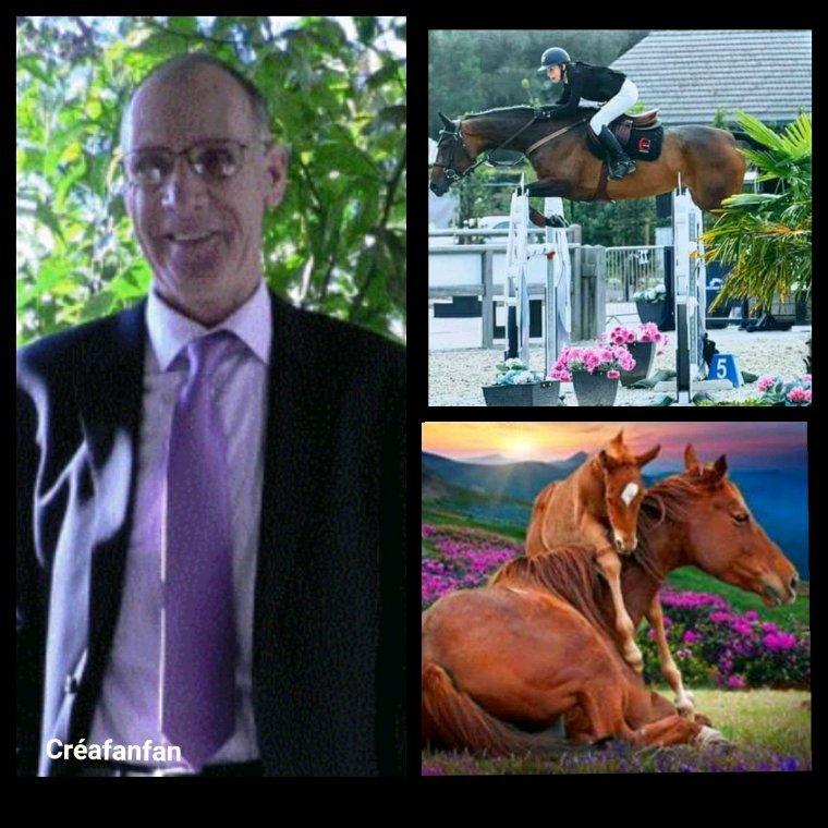 Pour toi qui ne peu pas allé  voir tes courses  des chevaux ,je sais quelle te manque vraiment