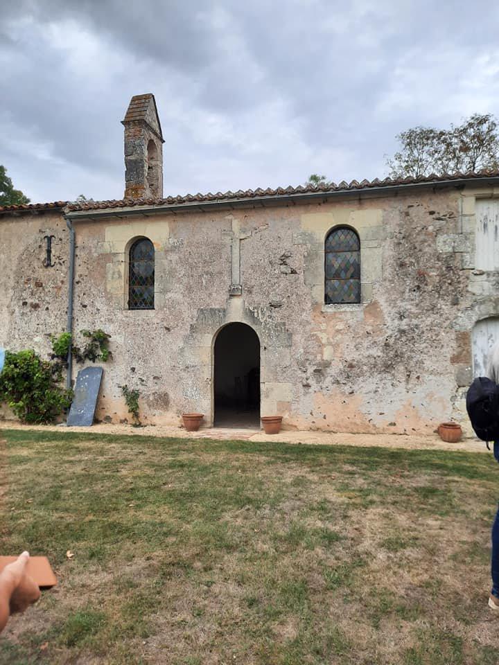 Château de la Garenne à Cersay.