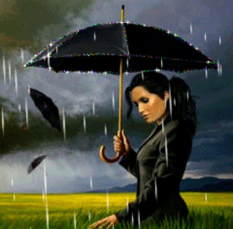 Bon vendredi  sous encore de la pluie