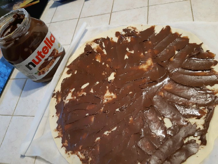 Mes petits gâteaux au nutella