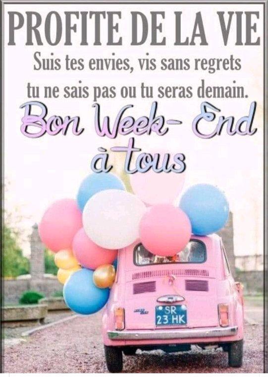 Bon week-end ,bon jeudi  bisous