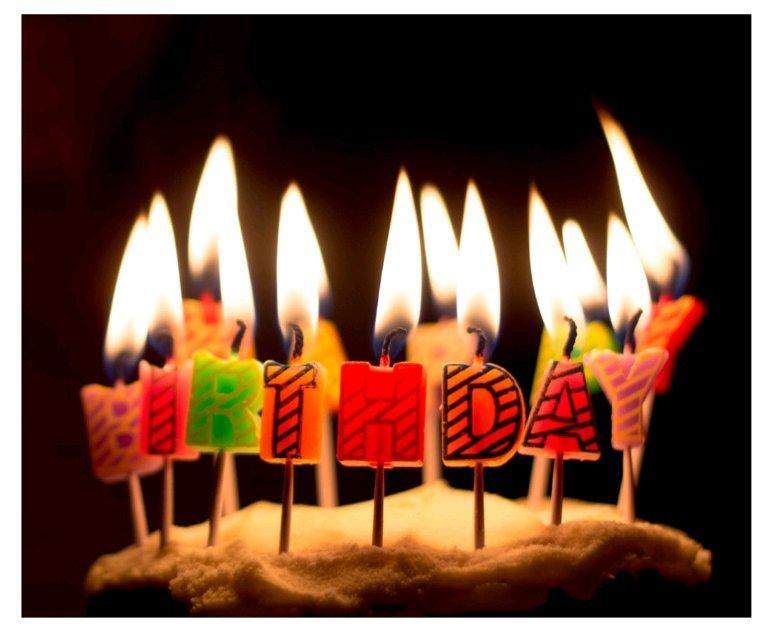 Joyeux anniversaire à toi mon ami André