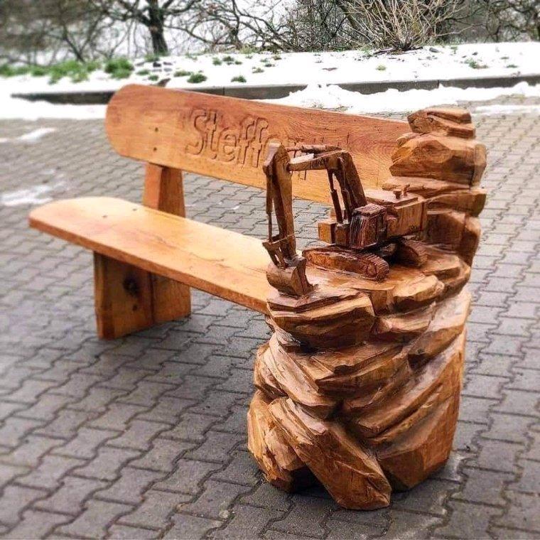 Jolies choses en bois
