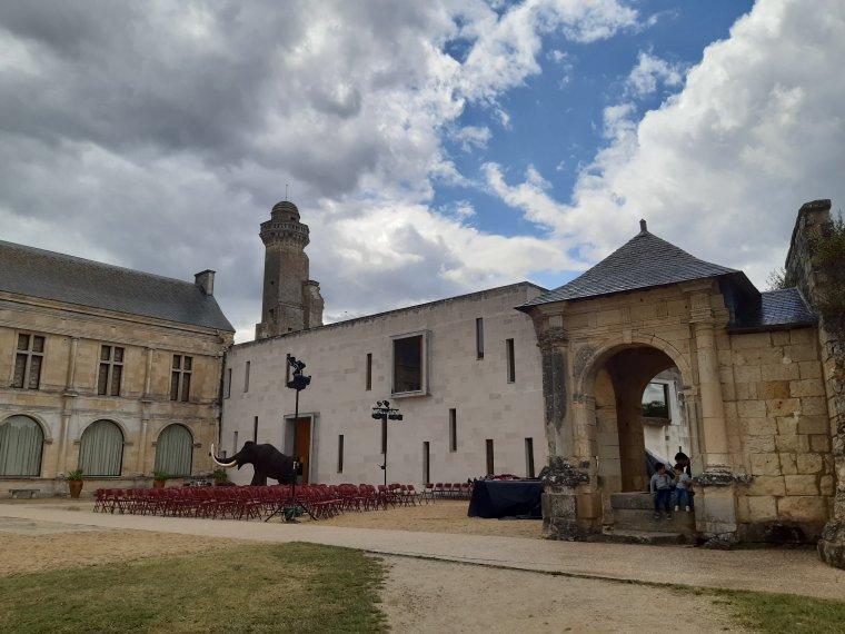 Chateau du grand pressigny dans l'indre et loire