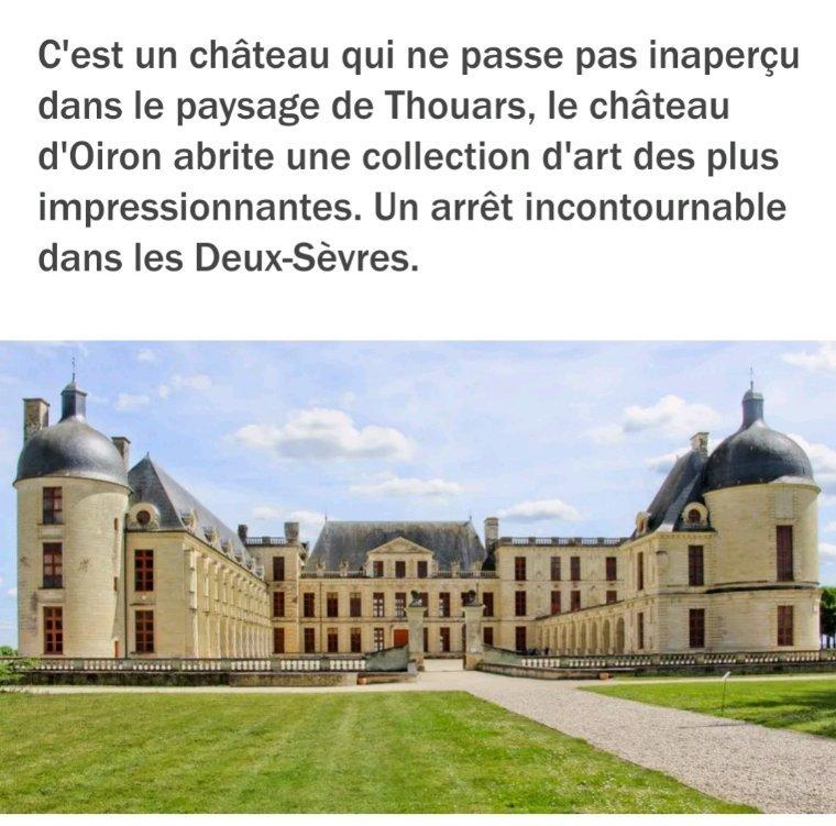 Joli le château de Oiron