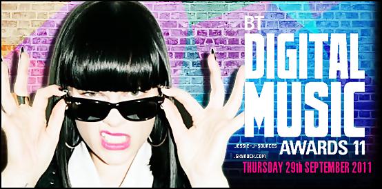 - Jessie J est nominée pour les BT Digital Music Awards !